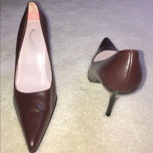 High heels women's shoes.